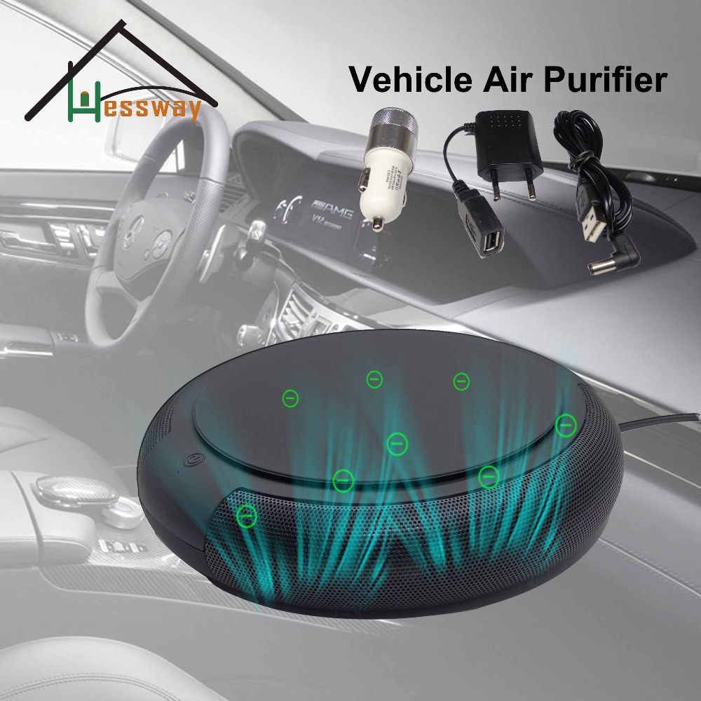 Anti formaldehyde Car air purifier USB Cable Adapter with air cleaner