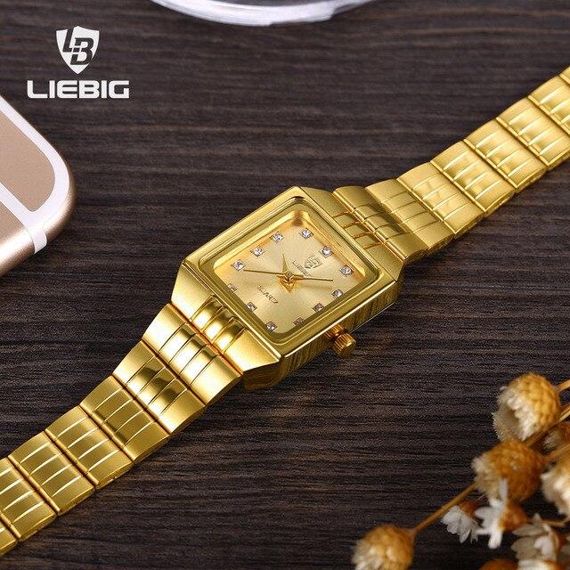 SKMEI Luxury Lovers Watch Men Women Couple Watches Bracelet Quartz Wristwatch Go