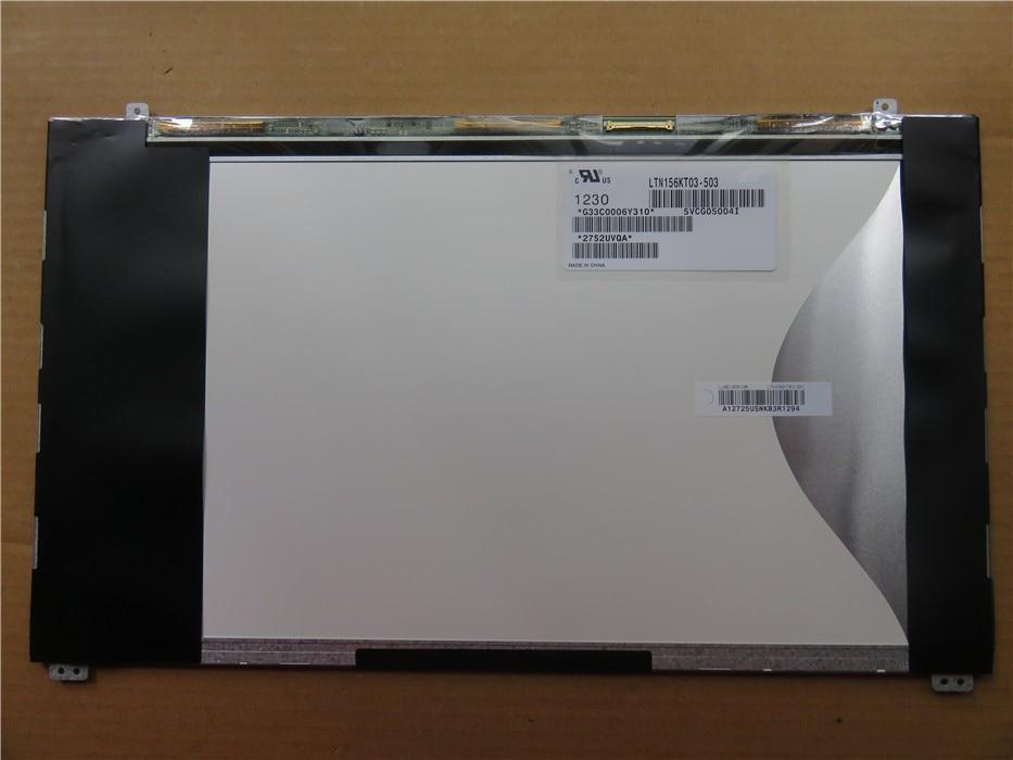 Free shipping 15 6 inch LAPTOP LCD LED SCREEN LTN156KT03 LTN156KT03 503 LTN156KT03 501 Display matrix