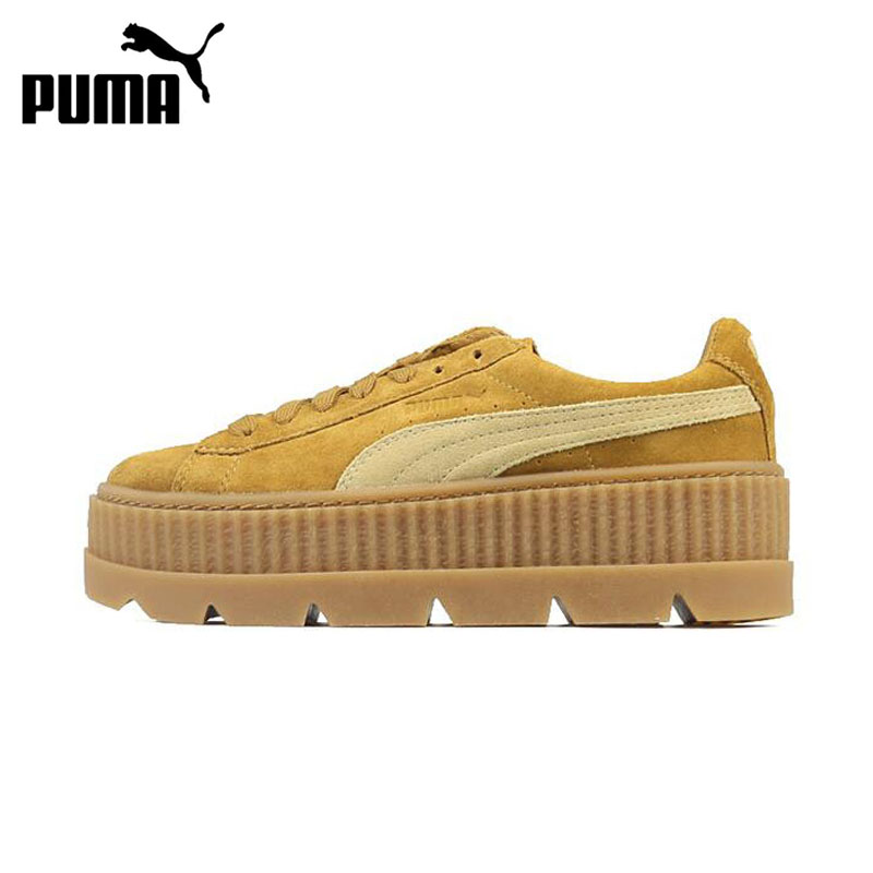 New Arrival Official Puma x Fenty Cleated Creeper Women's Hard Wearing Skateboarding Shoes Sports Sneakers Classique