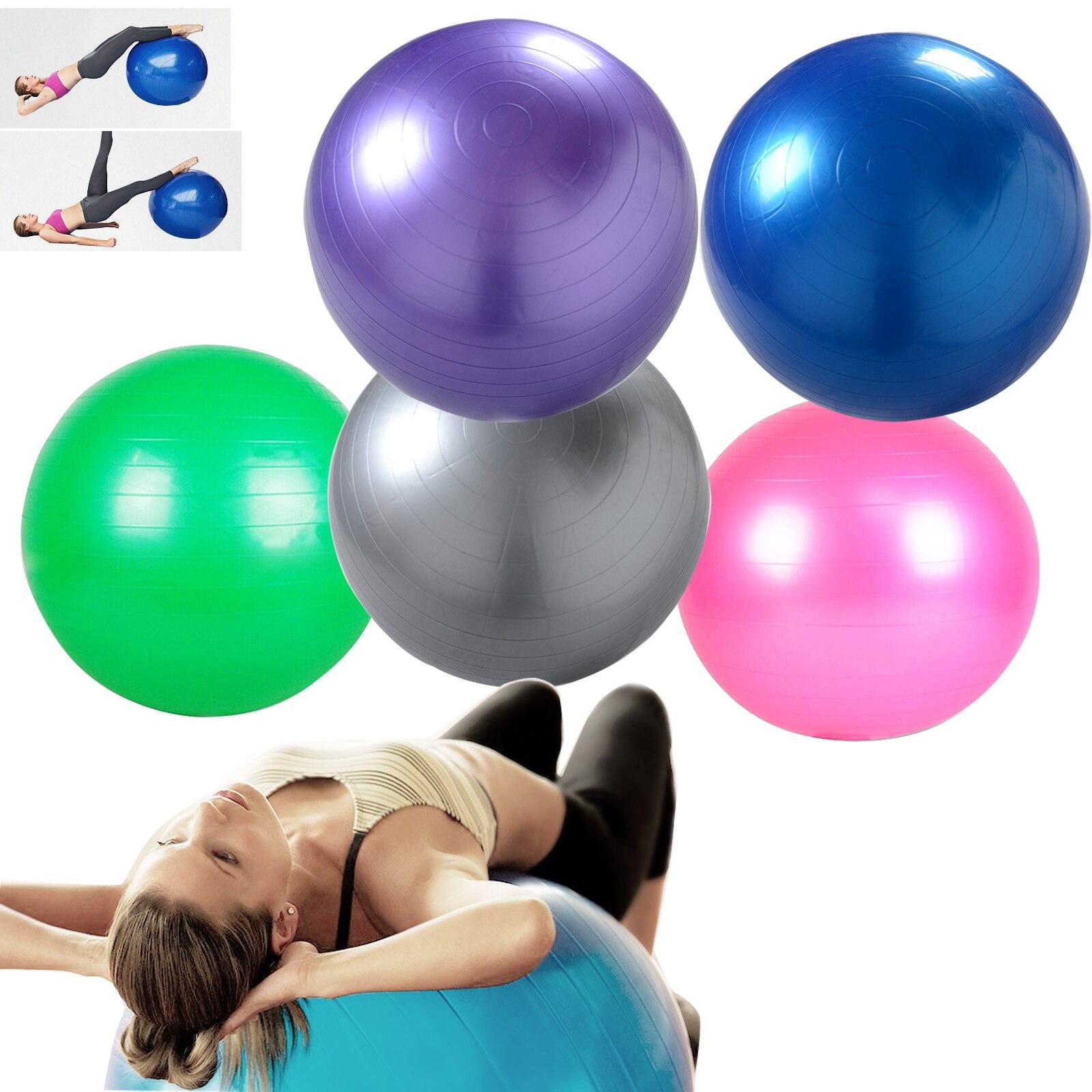 @1  Эко-европейский популярный многоцелевой взрывозащищенный пвх упражнение йога мяч тренажерный зал для ✔