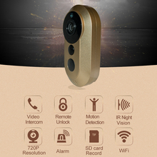 Wi-fi IP WiFi Doorbell Assist  HD Video Intercom Distant Sensible Residence Automation Sensor PIR 433MHZ machine