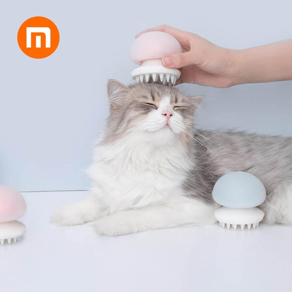 Original Xiaomi Mijia Youpin Jellyfish Pet Massage Comb Negative Ion Anti-static Massage Comb For Cat