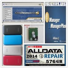 2017 3in1 AUTO car repair 1TB HDD = alldata mitchell software alldata 10.53 + mitchell on demand software 2015 + Manager plus(China (Mainland))