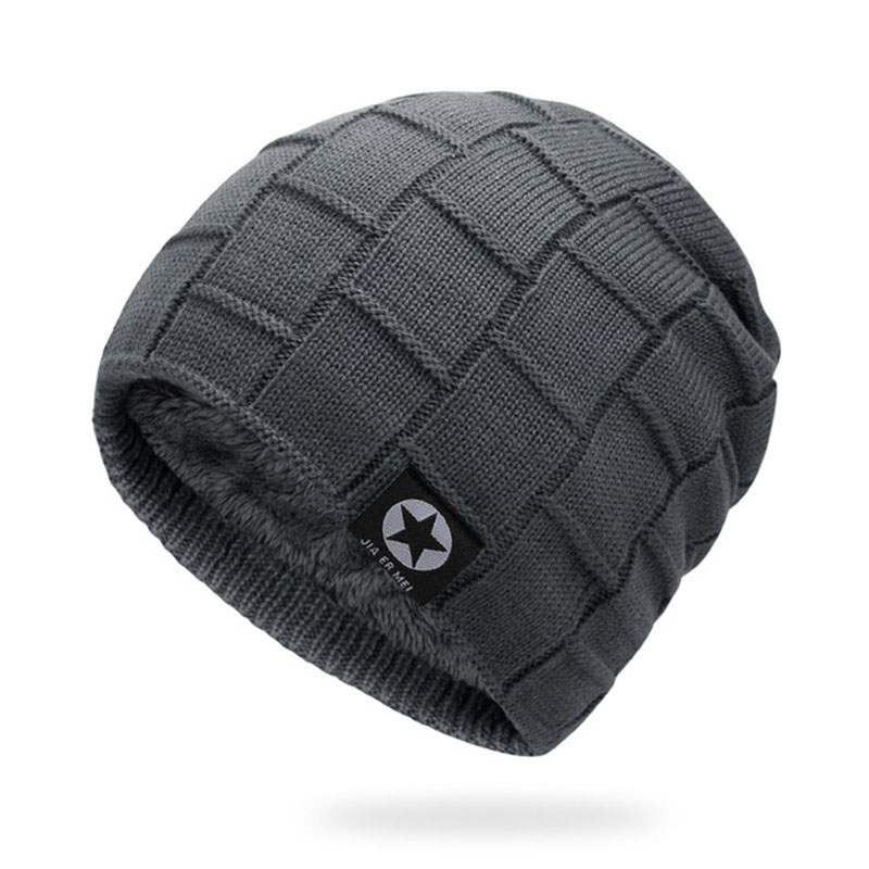 5de575c09f9ce Mens Winter Hat Casual Brand Knitted Ladies Hats Beanies Stocking Hat Plus  Velvet Rasta Cap Skull Bonnet Hats For Men-in Skullies   Beanies from  Apparel ...