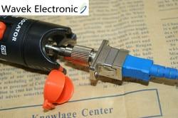 Free Shipping SC female to male FC fiber optic optic hybrid adapter