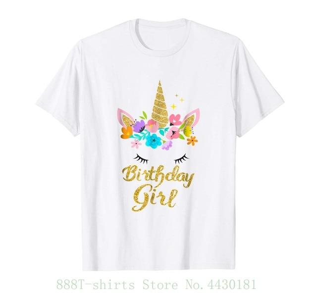 c01032d0 89+ Unicorn Birthday T Shirts - Its My 7th Magical Birthday Girls ...