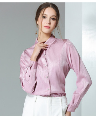 The new weight of new silk blouses women