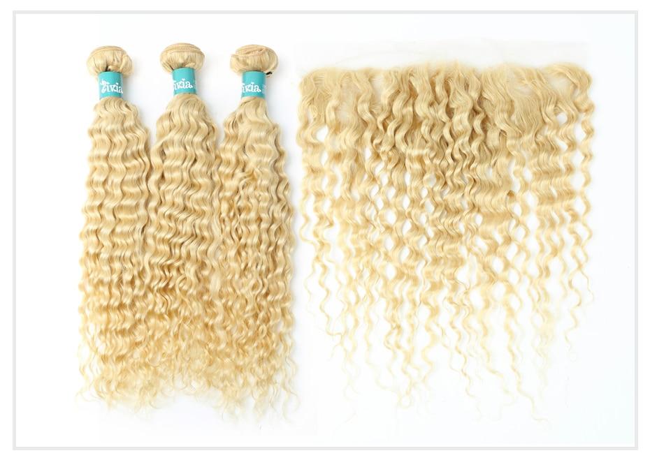 Blonde Deep Wave Bundles with Frontal  (1)
