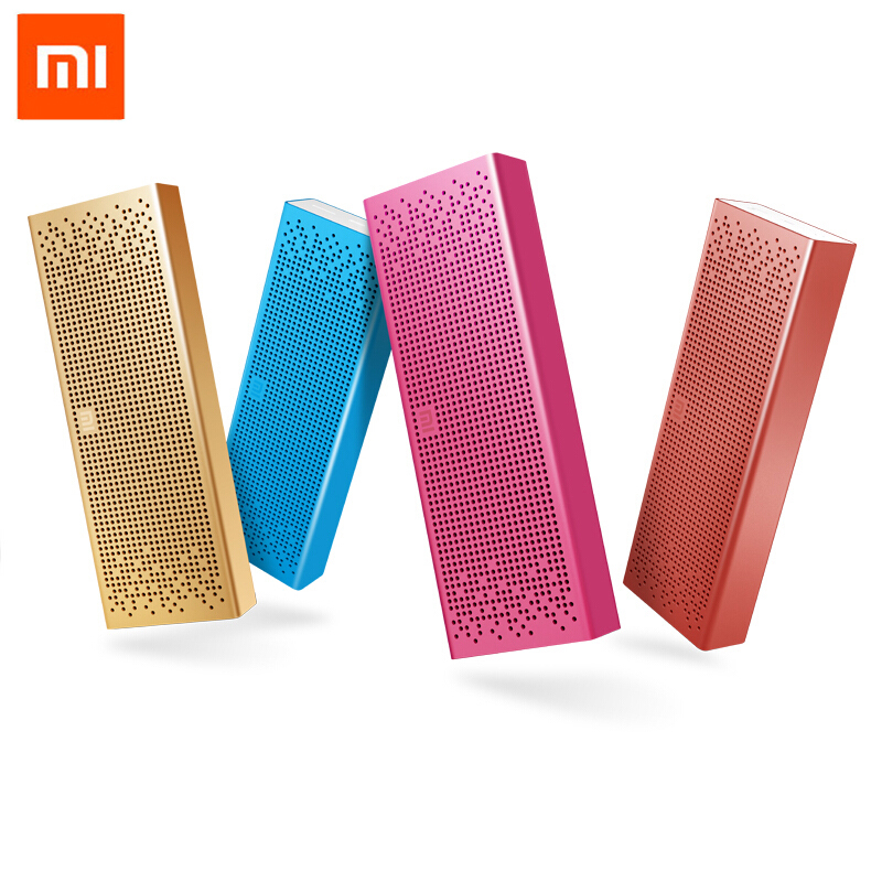Original Xiaomi Mi Bluetooth Speaker Stereo Wireless Mini Portable Bluetooth Speakers Music MP3 Player Support Handsfree original xiaomi mi bluetooth speaker metal square box mini wireless stereo portable mp3 player handsfree bluetooth 4 0