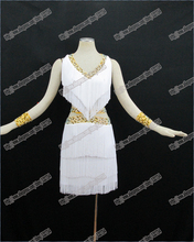 Wholesale- Ballroom Latin Competition Dance Dress,Latin Performing Dress,Latin Costume L-0001