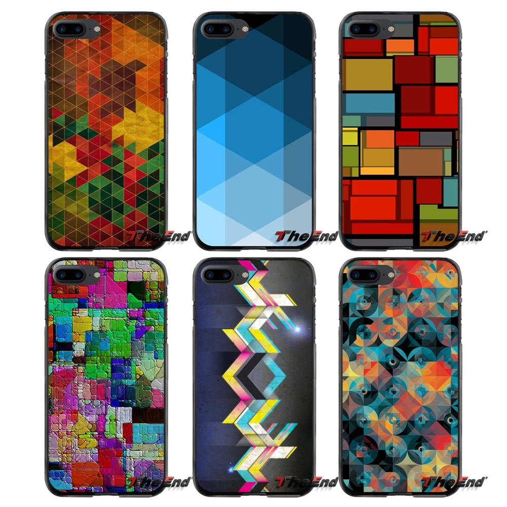 Accessories Phone Shell Covers Mosaic For Apple iPhone 4 4S 5 5S 5C SE 6 6S 7 8 Plus X iPod Touch 4 5 6