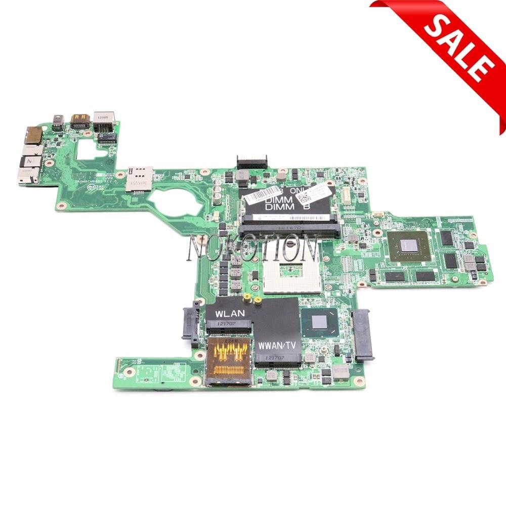 Материнская плата NOKOTION DAGM6CMB8D0 CN-0C47NF 0C47NF для ноутбука Dell XPS 15 L502X, материнская плата HM67 DDR3 GT525M, работает