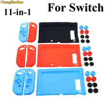 ChengHaoRan 1set Silicone protection case grips cap Set for Nintendo Switch Console NS Joy-Con Controller Anti-wear soft cover