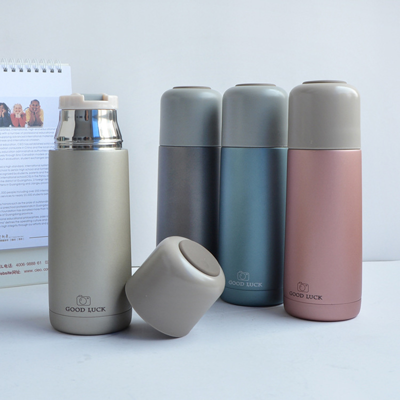 Mini Thermocup Portable Thermos Bottles 350ml Vacuum Flasks Stainless Steel Thermos Tea Water Bottle Cups Thermos Thermal Cup