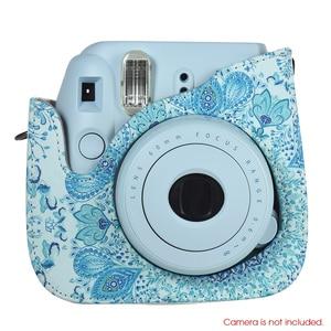 Image 3 - Andoer กระเป๋ากล้อง PU สำหรับ Fujifilm Instax Mini 8 Mini 9 Instax กระเป๋ากล้อง + 96 Photo Album สูง QUALY ทนทานกระเป๋ากล้อง