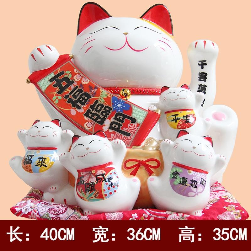Mano de gato Cinco bendiciones descienden sobre la decoración de la - Decoración del hogar - foto 5