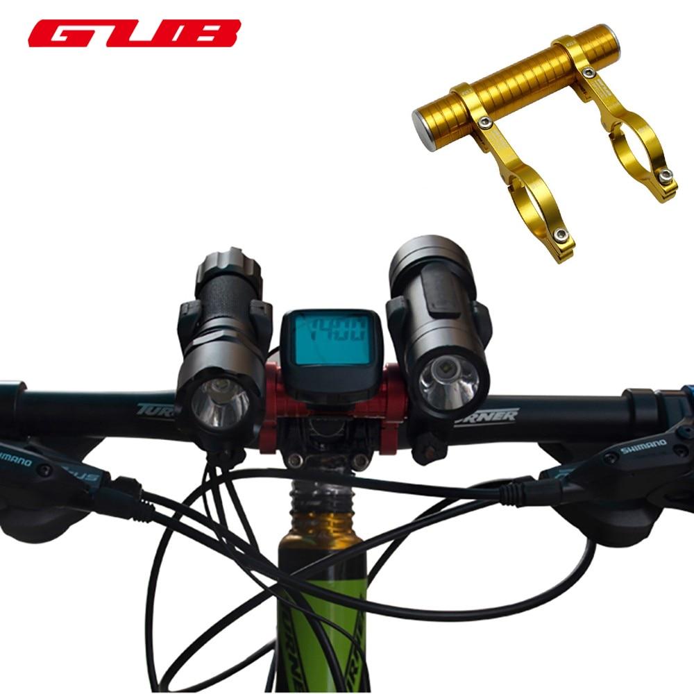 GUB 558 Bicycle Handlebar extender Mount Lamp Holder Bicycle HandleBar Extender