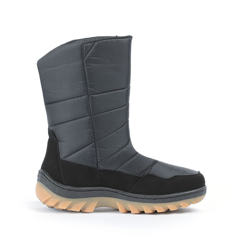 07d845b9b LIBANG Brand New Boots Men Mid-Calf Warmful Winter Boots Men Snow Boots Non-slip  Waterproof Winter Shoes for Men Plus Size 41-46 | My Baby Gecko