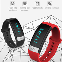 Timethinker QS03 Smart Bracelet ECG Watch Fitness Tracker Wristband Reloj Heart Rate Monitor Pedometer IP67 PK Y5 115 Wristband