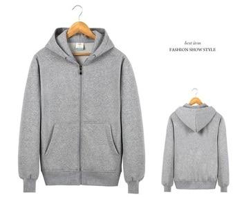 Customized Zipper Sweater Advertising Hoodies ,group activity employee welfare 1