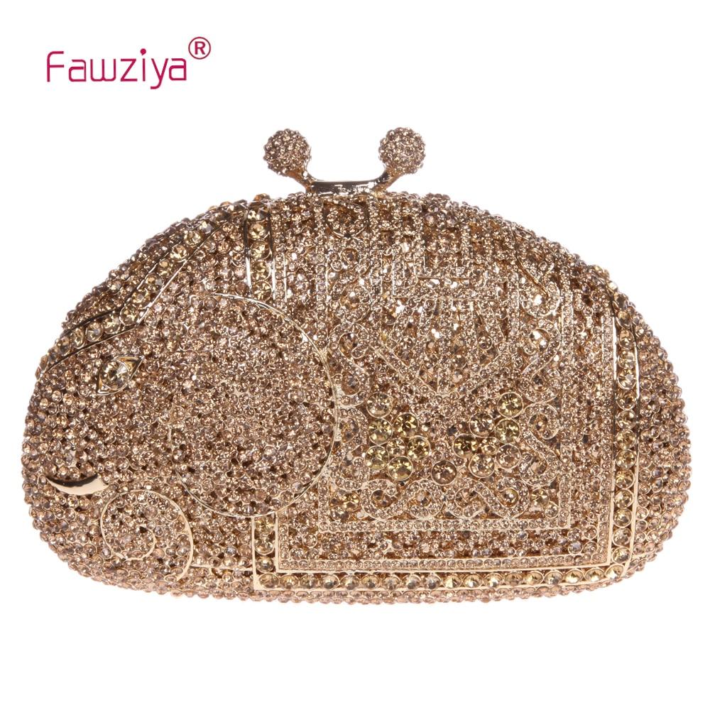Fawziya животного Сумка Слон кошелек для свадьбы Сумки для Для женщин клатч