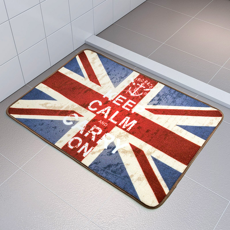 separation shoes e8f0d 8345a Free Shipping 70 X140CM Fashion Flag Carpet Mats Anti-skid Mat Doormat Rug  Home Floor Mat For Kitchen Room Bathroom Mat Tapete