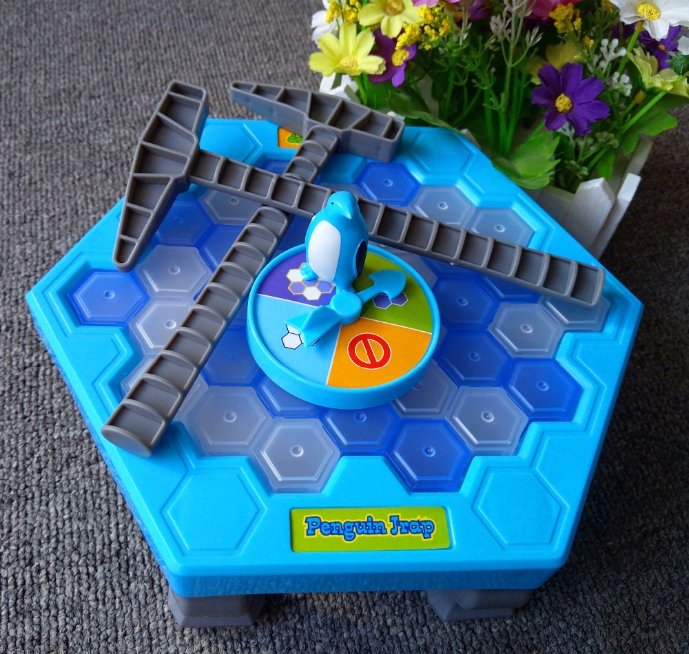 Penguin trap interactive Ice Breaking Table Penguin Trap antistress toy activate fun toy for kids Family funny game zg007 children funny lucky game gadget joke toy projectile fun