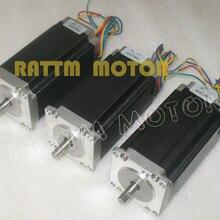 3 шт NEMA23 425 Oz-in CNC шаговый двигатель/3.0A