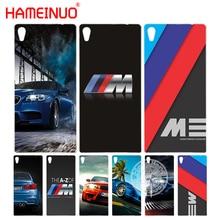 HAMEINUO luxury bmw M3 photo print Cover phone Case for sony xperia C6 XA1 XA ULTRA