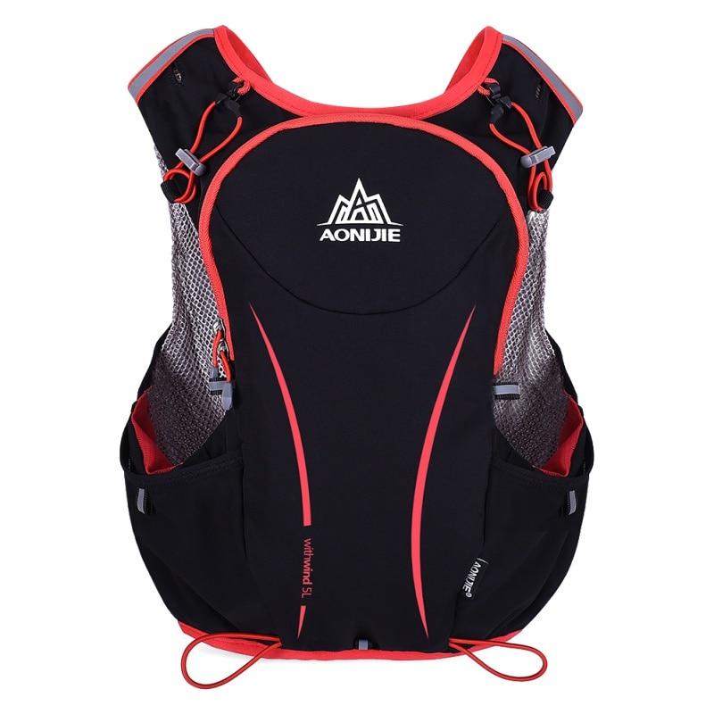 5L Outdoor Sport Running Backpack Unisex Marathon Cycling Hiking Climbing Bag Multi-Purp ...