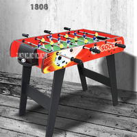 TB MINI001 1806 Six Bar Soccer Table Football Machine Classic Tabletop Soccer Game Children Indoor Game Adults Board Game
