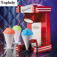 2017 Household Snow Cone Machine Electric Shaved Ice Machine Electric Ice Crusher Snow Cone Maker For