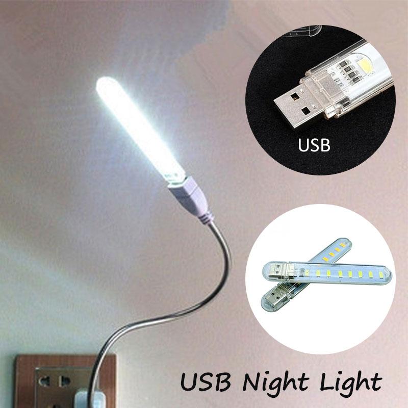 Gadget Usb Lampe Usb Licht Mini Usb Licht Durable 8led Tragbare Helle Pc Laptop 5 V Halten Sie Die Ganze Zeit Fit