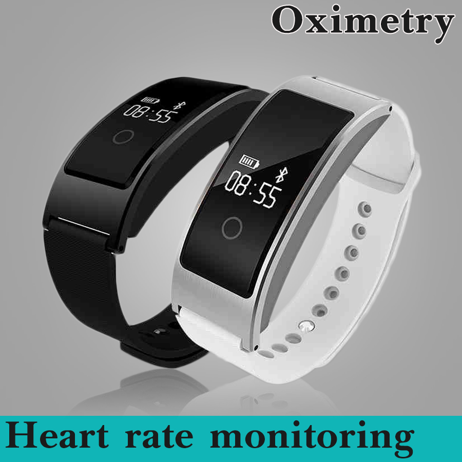 Metal Bluetooth font b Smartwatch b font Sports Smart Watch Heart Rate Monitor Blood Oxygen Smart