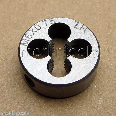 6mm x .75 Metric Right hand Die M6 x 0.75mm Pitch