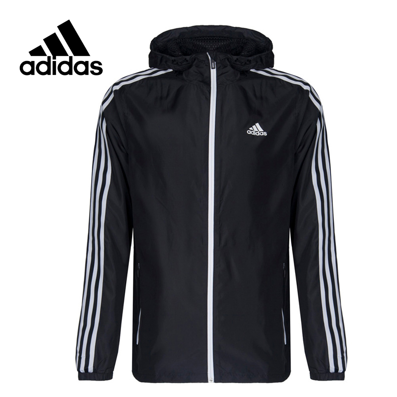 Adidas Original New Arrival Official Performance SA WB WV 3S Men's jacket Hooded Sportswear CF4879 CF4887 CF4871 adidas new arrival official ess 3s crew men s jacket breathable pullover sportswear bq9645