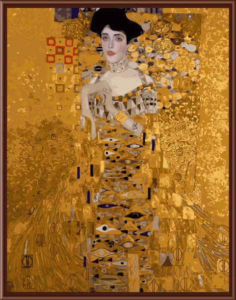 Frameless Pictures Painting By Numbers DIY Digital Oil Painting On Canvas Home Decoration 40x50cm Klimt - Mrs. Bauer G321