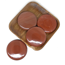 8x8cm Spa hot Stone Beauty Stones Massage Red bian stone Natural Hot Relieve Stress RELAX jade massage set toe