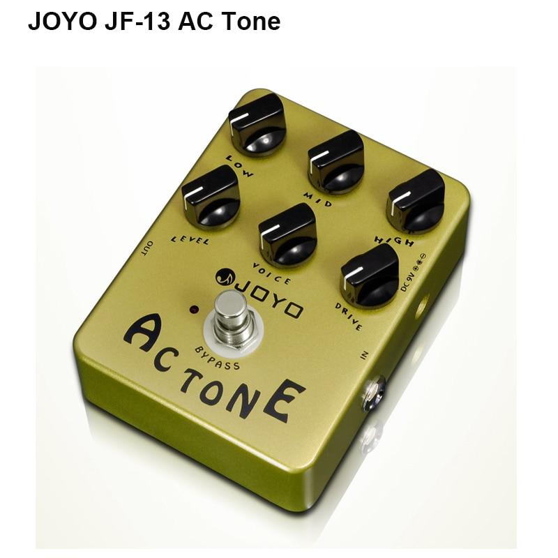 Joyo JF-13 AC Tone Guitar Pedal with Classic British Rock Sound effect & Vox AV-30 Tone, Free Shipping