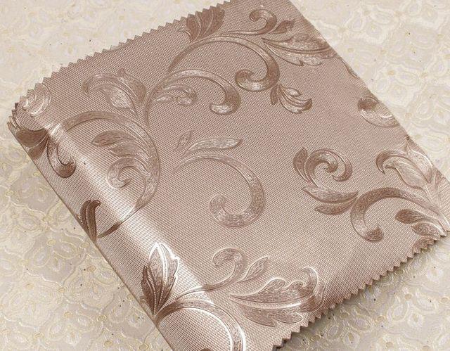 Fashion Leather Flower Wallpaper Texture Glitter Vinyl Wall Paper Luxury Wallcoverings Formaldehyde Free Fireproof