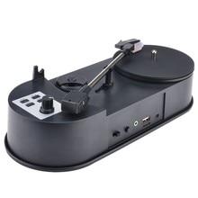 Ezcap613P 33/45 об./мин. рекордер преобразует виниловые пластинки в MP3 конвертеры для сохранения музыки в USB флэш-накопитель/SD карты колонки
