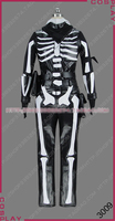 Anime Cosplay Costume Skeleton Cavalry Fighting Uniforms halloween costumes for men adult A