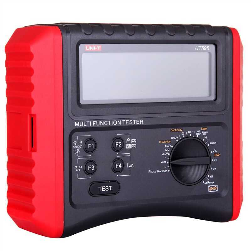 UNI-T UT595 Electrical Integrated Tester / Digital Multifunction Electrical Safety Integrated Test Instrument digital integrated tester integrated circuit tester ic 74 series and 40 series