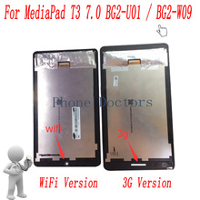 7,0 pulgadas LCD pantalla + MONTAJE DE digitalizador con pantalla táctil para Huawei MediaPad T3 7,0, 2017 3G BG2 U01/WiFi BG2 W09