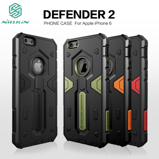 43dee1d74c For Apple iPhone 6 Case Original Nillkin Rugged Shield Back Cover luxury  Defender 2 Shockproof Tough