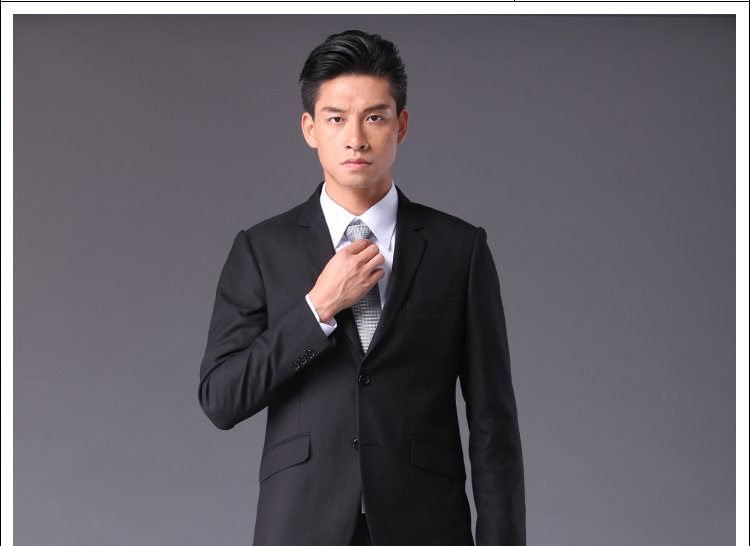 Hugh Tower Dress Men Suits Slim Casual Wedding Tuxedos And Groom Korea