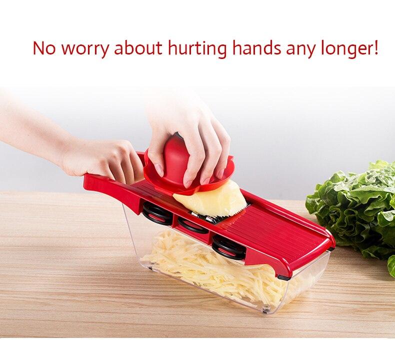 Овощерезка TintonLife безопасно