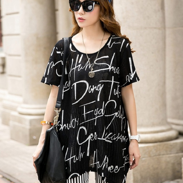 2016 new summer women's T shirts print materntiy T shirts pregnancy Perspective shirts maternity clothing summer clothing 16432