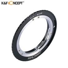 K & F concept anillo adaptador de montaje Contax Yashica c/y lente a cámara Canon EOS EF montaje cuerpo